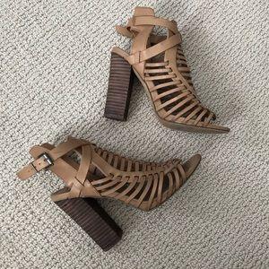Steve Madden Sabine Tan strappy sandal heels